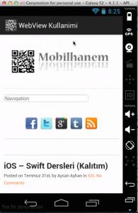 mobilhanem webview