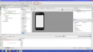 Android Studio Arayüz