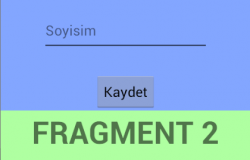 Fragmentler Arası Data Alış Verişi (Interface Kullanarak)