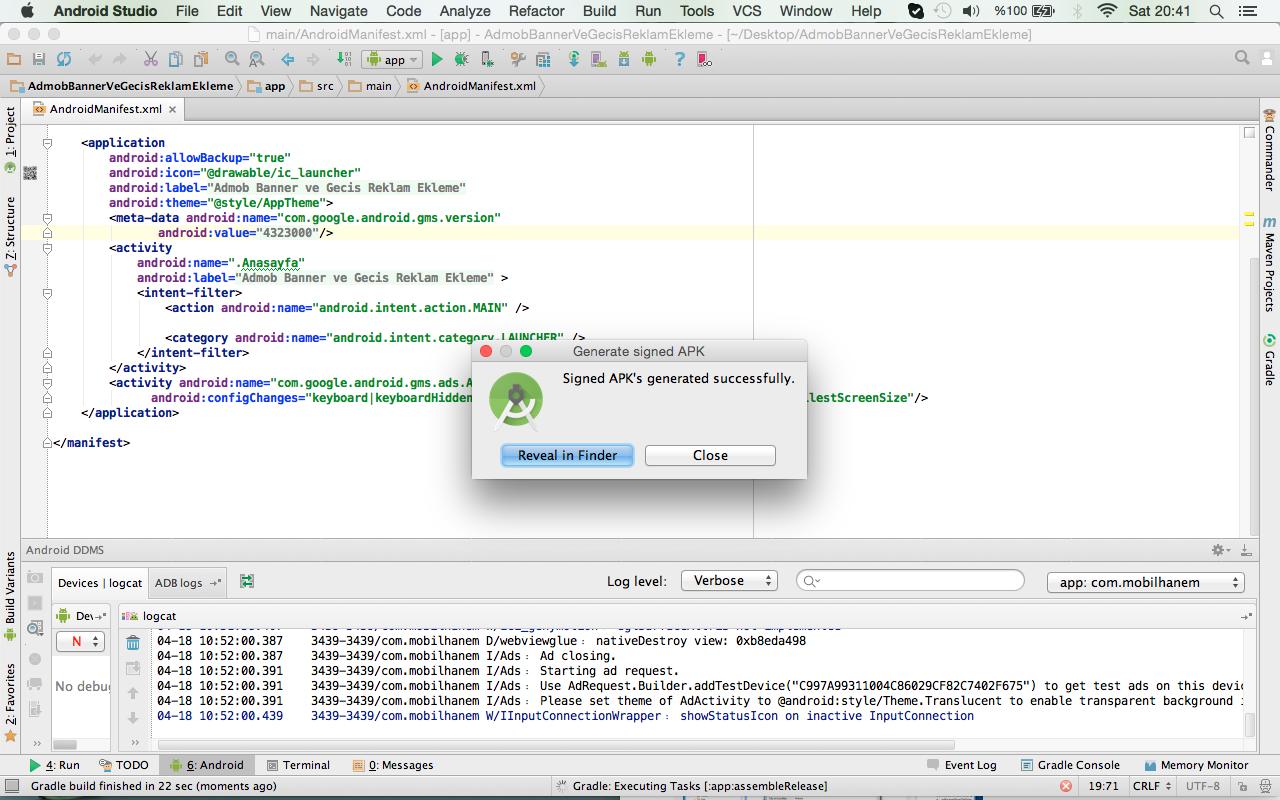 Android Studio Ders