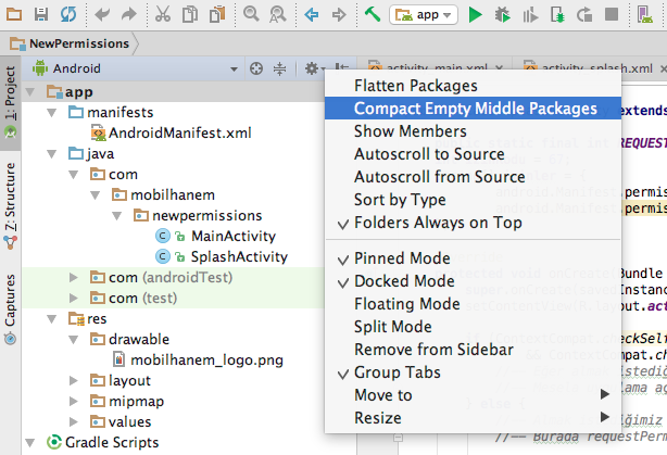 how to change package name in android studio youtube