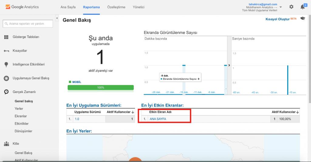 iOS Analytics Ekleme