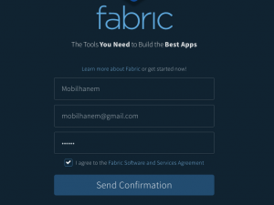 Fabric crashlytics hesabı