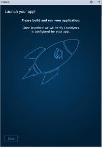 Crashlytics ekleme