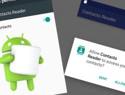 Android 6.0 Üzeri İzin Ayarları