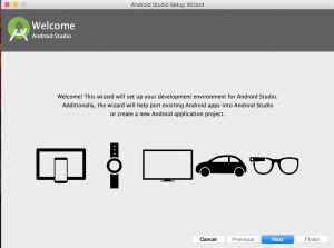 android studio açılış