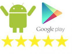 Android Google Play Uygulama Puanlama