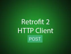 Android Retrofit Kullanımı ( Post İşlemi )