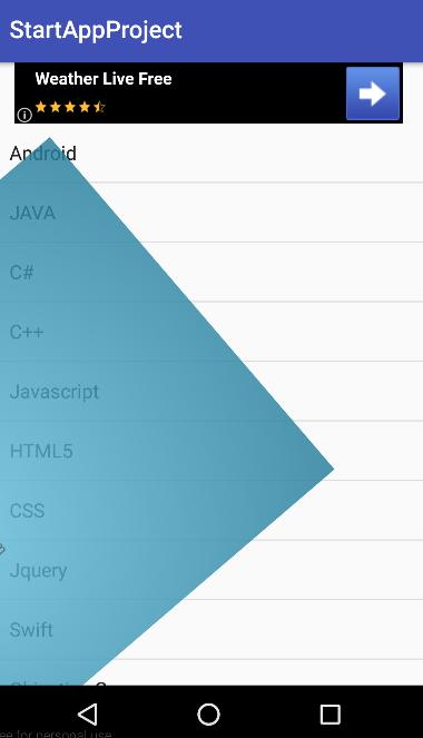 Android StartApp Reklamları | Android Reklam ile Para Kazanma Yolları