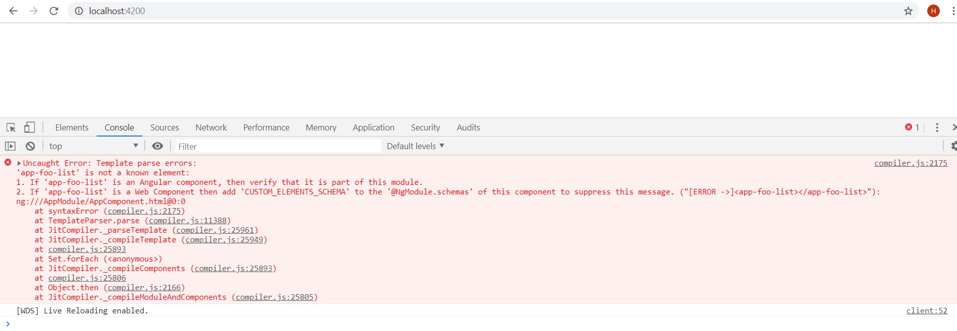 angular module render problem çözümü
